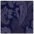 rug #600349 | square blue-violet damask rug
