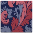 rug #600357 | square blue-violet damask rug