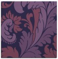 rug #600361 | square purple damask rug