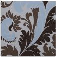 rug #600377 | square blue-violet damask rug