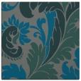 rug #600393 | square blue-green damask rug