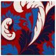 rug #600505 | square red damask rug
