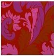 rug #600517 | square pink damask rug