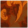 rug #600521 | square red-orange rug