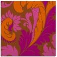 rug #600529 | square red-orange damask rug