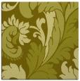 rug #600585 | square light-green rug