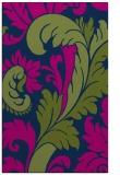 rug #601005 |  green damask rug