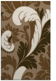 rug #601121 |  mid-brown damask rug