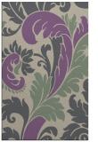 rug #601149 |  purple damask rug