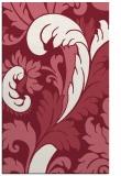 rug #601181 |  pink damask rug