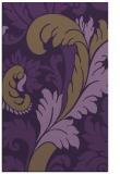 rug #601201 |  mid-brown damask rug