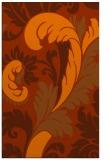 rug #601225    red-orange rug