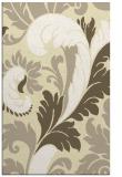 rug #601261 |  white damask rug