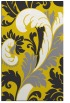 rug #601269 |  yellow damask rug