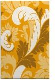 rug #601305 |  light-orange damask rug
