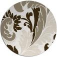 rug #601321 | round beige rug