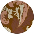 rug #601468 | round damask rug