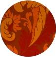 rug #601567 | round damask rug