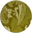 rug #601641 | round light-green damask rug