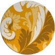 rug #601657 | round damask rug