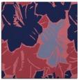 rug #602117 | square blue-violet rug