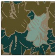 rug #602145 | square mid-brown abstract rug