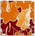 rug #602217 | square orange popular rug