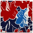 rug #602265 | square red graphic rug