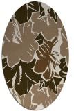 rug #602529 | oval beige natural rug