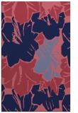 rug #602821 |  pink abstract rug