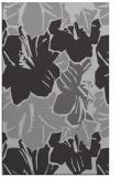 rug #602929 |  orange graphic rug