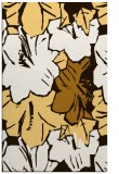 rug #603025 |  brown graphic rug