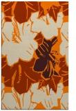 rug #603045 |  orange natural rug
