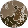 rug #603233 | round beige popular rug