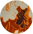 rug #603397 | round beige natural rug