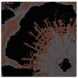 rug #609073 | square black natural rug