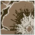 rug #609217 | square mid-brown rug