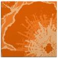 rug #609325 | square red-orange popular rug