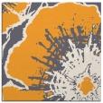 rug #609413   square light-orange graphic rug
