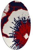 rug #609658 | oval popular rug