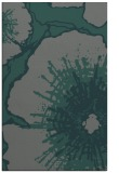 rug #609897 |  green graphic rug