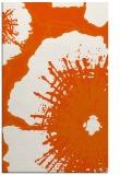 rug #610037 |  red-orange rug