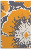 rug #610117 |  light-orange graphic rug