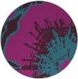 rug #610186 | round graphic rug