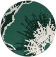rug #610253   round blue-green graphic rug