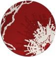 rug #610369 | round red popular rug