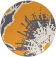 rug #610469 | round light-orange natural rug