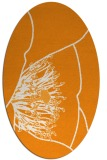 rug #611521 | oval light-orange popular rug