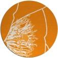 rug #612225 | round light-orange popular rug