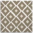 rug #612585 | square white retro rug